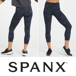 🦊 SPANX Look At Me Now Cropped Seamless Leggings